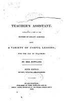 Infant School Manual  Or  Teacher s Assistant PDF