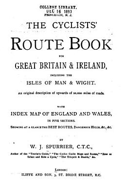 The cyclists  route book for Great Britain   Ireland PDF