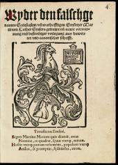 Sieben kopffe Martin Luthers, von sieben sachen des Christlichen glaubens