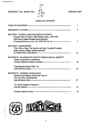 Ancestry PDF