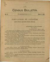 Census Bulletin: Issue 37