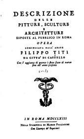 Descrizione delle pitture, sculture e architetture esposte al pubblico in Roma