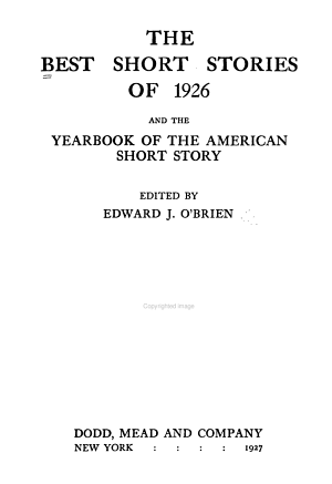 The Best American Short Stories and the Yearbook of the American Short Story PDF