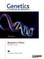 Genetics  Loose Leaf  PDF