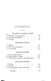 Studies in Modern Music: Second Series ; Frederick Chopin, Antonin Dvořák, Johannes Brahms