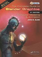 The Complete Guide to Blender Graphics PDF