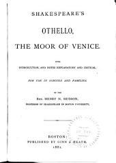 Shakespeare's Othello, the Moor of Venice