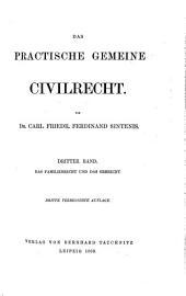 Das practische gemeine civilrecht: Band 3
