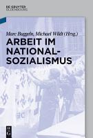 Arbeit im Nationalsozialismus PDF
