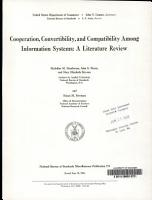Cooperation  Convertibility  and Compatibility Among Information Systems PDF