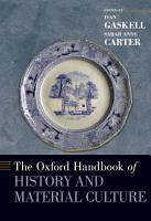 The Oxford Handbook of History and Material Culture PDF