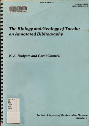 The Biology and Geology of Tuvalu PDF