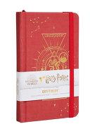 Harry Potter: GryffindorConstellationRuled Pocket Journal