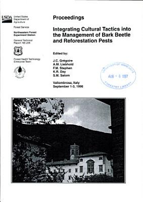 Proceedings  Integrating Cultural Tactics Into the Management of Bark Beetle and Reforestation Pests
