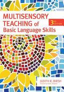 Multisensory Teaching Of Basic Language Skills Book PDF