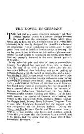 The Harvard Classics Shelf of Fiction, Volume 15: German Fiction