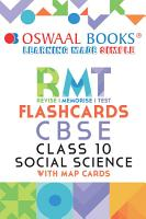 Oswaal CBSE RMT Flashcards Class 10 Social Science  For 2021 Exam  PDF