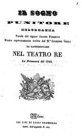 Il sogno punitore, melodramma, musica da Giuseppe Gerli