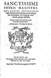 Varia capitula ... de Virtute et Vitio