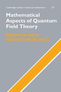 Mathematical Aspects of Quantum Field Theory PDF