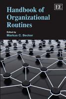 Handbook of Organizational Routines PDF