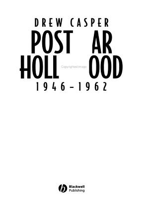 Postwar Hollywood