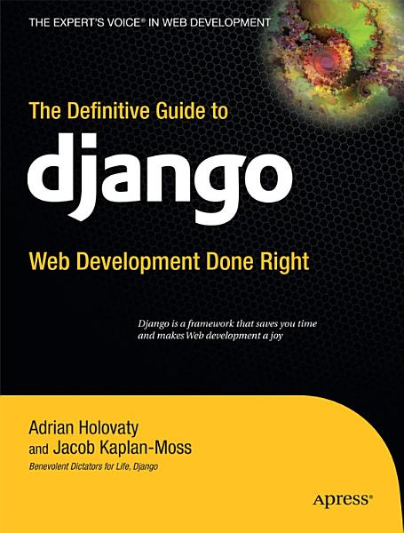 The Definitive Guide to Django Pdf Book