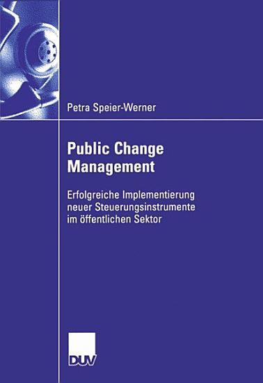 Public Change Management PDF