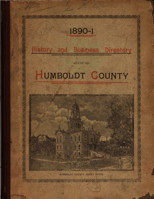 History and Business Directory of Humboldt County  Calif   PDF