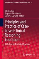 Principles and Practice of Case based Clinical Reasoning Education PDF