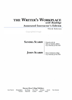 The Writer s Workplace with Readings PDF