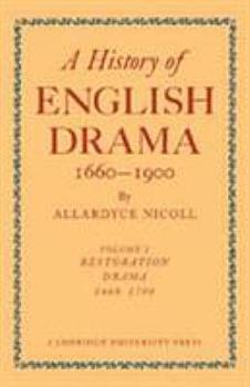 A History of English Drama 1660 1900  Volume 5  Late Nineteenth Century Drama 1850 1900 PDF