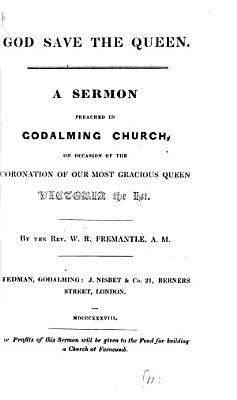God save the queen  a sermon PDF