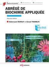 Abr  g   de biochimie appliqu  e   2e   dition PDF