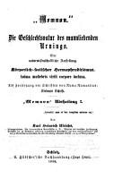 Die    Geschlechtsnatur des mannliebenden Urnings PDF