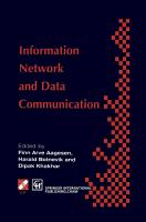 Information Networks and Data Communication PDF