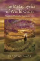 The Metaphysics of World Order PDF