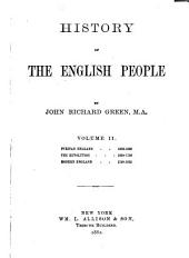 History of the English People: Volume 2