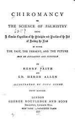 Chiromancy; Or, The Science of Palmistry