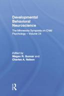 Developmental Behavioral Neuroscience PDF