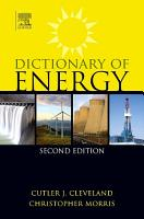 Dictionary of Energy PDF