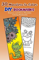 30 Monsters to Color DIY Bookmarks