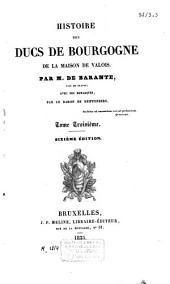 Histoire des Ducs de Bourgogne de la maison de Valois: Jean-Sans-Peur