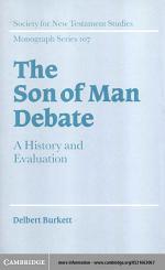 The Son of Man Debate
