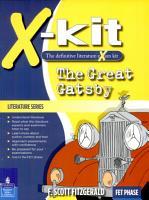 X Kit Literature Series  FET Great Gatsby PDF