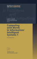 Computing with words in information intelligent systems