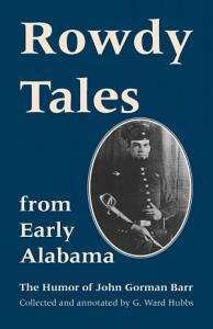 Rowdy Tales from Early Alabama PDF
