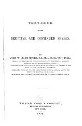 Text-book of the Eruptive and Continued Fevers