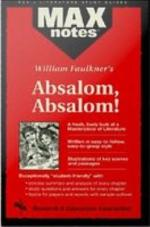 Absalom, Absalom! (MAXNotes Literature Guides)