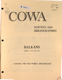 COWA Surveys and Bibliographies